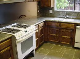 granite countertop double sided kitchen cabinets tile designs