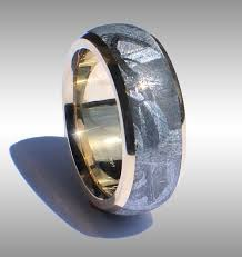 meteorite wedding band finest quality meteorite rings meteorite ring meteorite bands