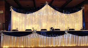 wedding backdrop reception wedding grand illusions