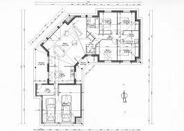 plan de maison 4 chambres plan maison 4 chambres plain pied unique maison 1654 1181 plan de