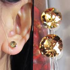 non metal earrings clip on stud earrings archives comfortable bridal wedding clip
