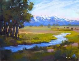 Mountain Landscape Paintings by 94 Best Painted Mountains Images On Pinterest Landscapes