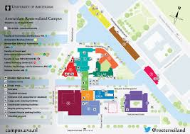 Bc Campus Map Amsterdam Roeterseiland Campus Campus Development University