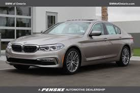 bmw 5 series for sale ontario 2017 bmw 5 series 540i sedan for sale in ontario ca