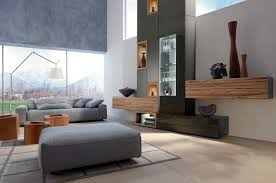 living room displays living room design with gray sofa displays comfort and luxury