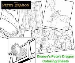 disney u0027s pete u0027s dragon coloring sheets hifow quick u0026 easy recipes