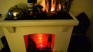 cardboard fake fireplace youtube