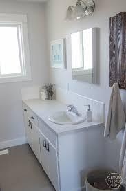 Design A Bathroom A Bathroom Renovation One Room Challenge Week 1 Lemon Thistle