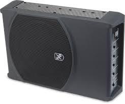 sound ordnance b 8pt 120 watt compact powered subwoofer at