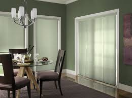panel track shades for sliding doors
