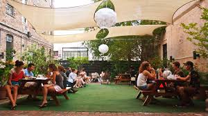 this new garden bar is the place to get fresh with euros