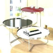 glass nesting coffee tables nesting coffee table techraja co