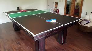 table tennis conversion top ping pong conversion top for pool tables youtube