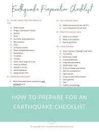 Secure Your Valuable Items With - the 7 things you need to do now to prepare for an earthquake