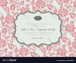 wedding invitation templates royalty free vector image