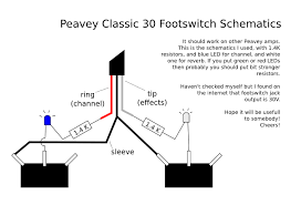 footswitch wiring diagram harmony central