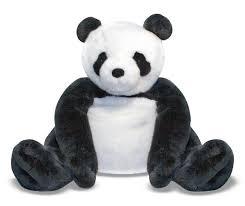 A Kitchen In Black And White Panda S House by Amazon Com Melissa U0026 Doug Giant Panda Bear Lifelike Stuffed