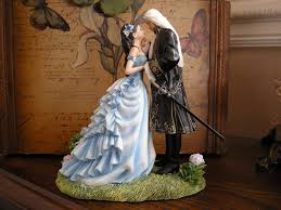 fantasy captured mermaid fairy wedding cake topper wedding