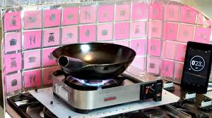 portable table top butane stove wok fire under a minute with iwatani 35fw portable burner youtube