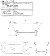 Bathtub Sizes Standard Sophisticated Bath Tub Standard Size Ideas Best Idea Home Design