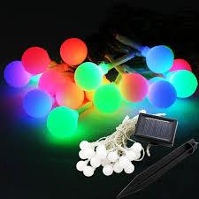 Outdoor Christmas Decorations Solar Lighting by Cheap 9m 20 Led Christmas Decoration Solar Led String Light Led