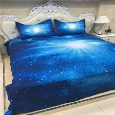 Galaxy Bed Set Xk 013 Royal Blue Galaxy Bed Set Single Bedding
