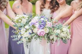 Wedding Flowers Northumberland Classic Wedding At Ellingham Hall In Northumberland With Bride In