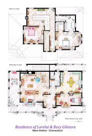 tv floorplans apartments in your favourite shows are