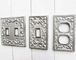 Decorative Wall Plate Covers Decorative Switch Etsy