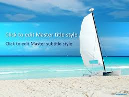 powerpoint templates free download ocean sail ppt template