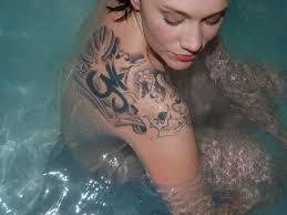 the 25 best shoulder tattoos for girls ideas on pinterest
