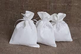 linen favor bags white favor bags linen lace favor bag wedding favor bags
