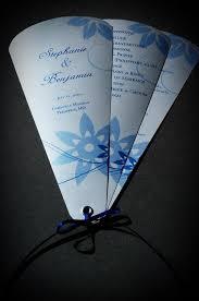 Fan Program Fan Wedding Invitation Template Wedding Invitation Sample