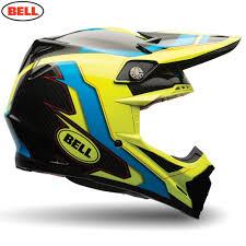 custom motocross helmets bell motorcycle helmets bell moto 9 flex factory blue hi viz