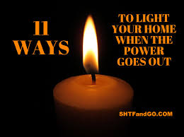 light that comes on when power goes out 11 ways to light your home when the power goes out shtfandgo