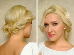 easy prom hairstyles for long hair to do at home simple updos for