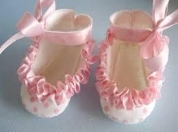ruffled ribbon sew baby baby shoes with ruffled ribbon e pattern by precious