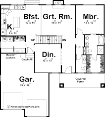 1 5 story craftsman house plan simpson