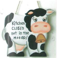 Cow Home Decor Cow Novelty Home Décor Plaques Signs Ebay