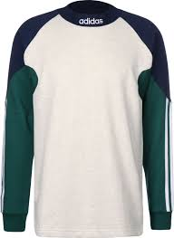 addidas sweater pitils jersey sweater white blue green