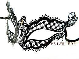 metal masquerade mask chess board diamond patterned venetian filigree scroll work metal