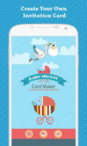 invitation maker app baby shower invitation free app android freeware
