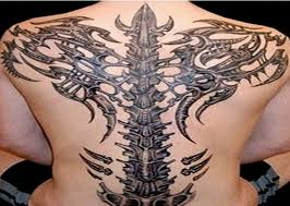 small 3d scorpion tattoo design for men back inofashionstyle com