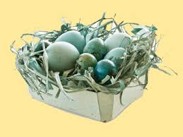 Easter Egg Basket Decorations by Eco Friendly Decorating Easter Eggs With Natural Colors