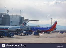 Denver International Airport Murals Removed by Denver International Airport Airplane Stock Photos U0026 Denver