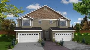duplex plans with garage in middle floor plans archive reality homes inc