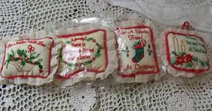 russ ornaments ornies stuffed ornaments set of 9