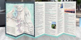 Outerbanks Map Outer Banks Media Portfolio Ocracoke Nc Map Brochure Design