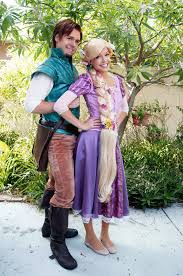 Tangled Halloween Costume Adults Rapunzel Flynn Rider Cosplay Disney Tangled