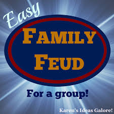 Family Feud Name Tag Template Easy Family Feud For A Family